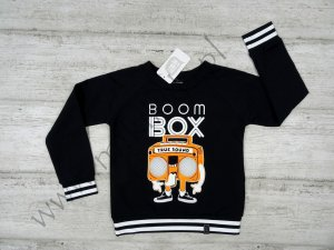 Bluza dresowa BoomBox czarna All for Kids